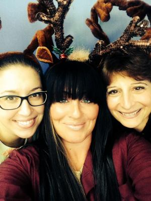 Holiday fun with Cindy, Ashley and Toni